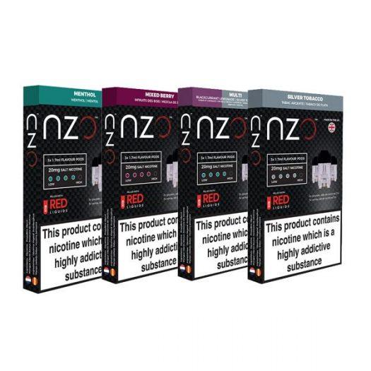 JWNBB0039X0033 65 525x525 - NZO 20mg Salt Cartridges with Red Liquids Nic Salt (50VG/50PG)