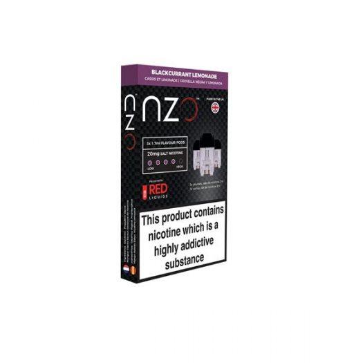 JWNBB0039X0033 9 525x525 - NZO 20mg Salt Cartridges with Red Liquids Nic Salt (50VG/50PG)