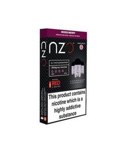 NZO 10mg Salt Cartridges with Red Liquids Nic Salt (50VG/50PG) 7
