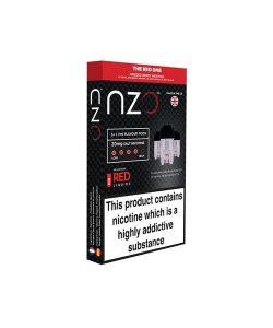 NZO 10mg Salt Cartridges with Red Liquids Nic Salt (50VG/50PG) 2