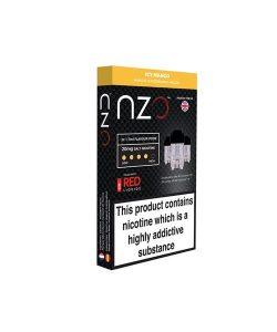 NZO 10mg Salt Cartridges with Red Liquids Nic Salt (50VG/50PG) 9
