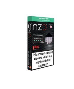 NZO 10mg Salt Cartridges with Red Liquids Nic Salt (50VG/50PG) 5