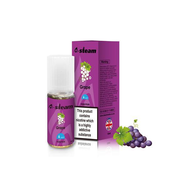 JWNBC0261X00111 115 525x525 - A-Steam Fruit Flavours 12MG 10ML (50VG/50PG)