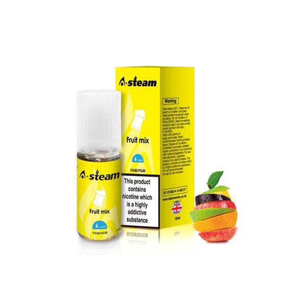 JWNBC0261X00111 172 525x525 - A-Steam Fruit Flavours 12MG 10ML (50VG/50PG)