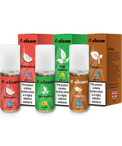 A-Steam Fruit Flavours 18MG 10ML (50VG/50PG) 5