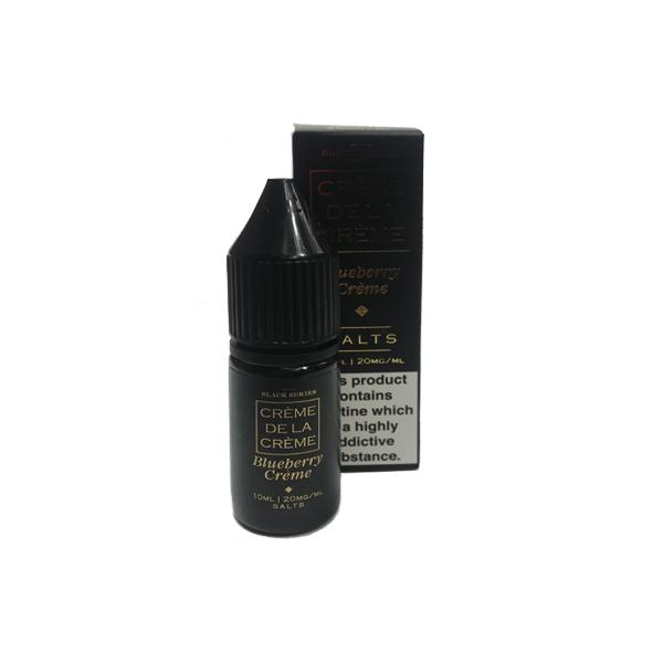 JWN454575472542454250002 17 525x525 - 20mg Creme De La Creme by Marina Vape 10ml Flavoured Nic Salt