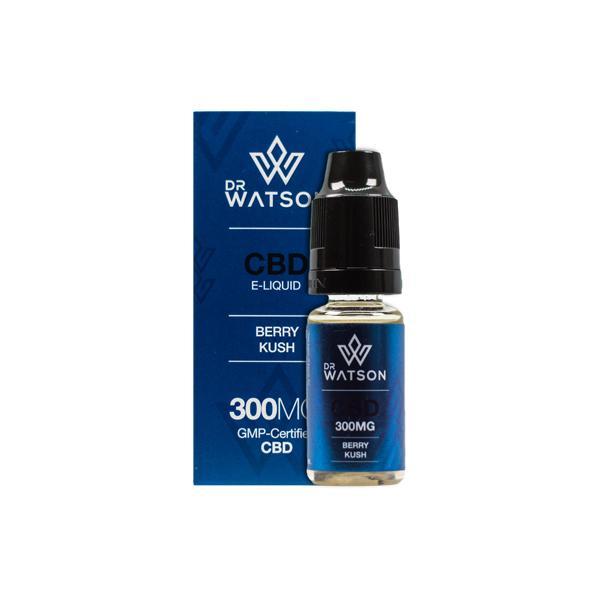 JWNBD0024X0110 27 525x525 - Dr Watson 300mg CBD Vaping Liquid 10ml