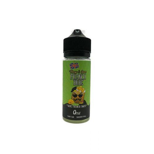 JWN5051125801145 525x525 - Mango & Cream French Dude 100ml Shortfill 0mg (70VG-30PG)