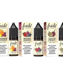 10mg Frukt Cyder 10ml Flavoured Nic Salts (50VG/50PG) 2