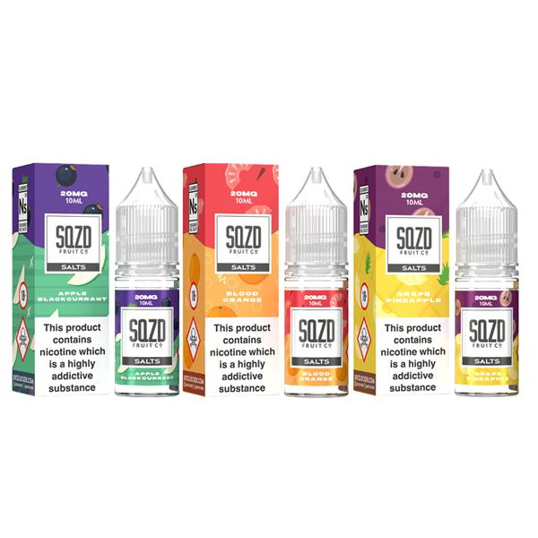JWNBF0168X0129 22 525x525 - 10mg Sqzd Flavoured Nic Salts 10ml  (50VG/50PG)