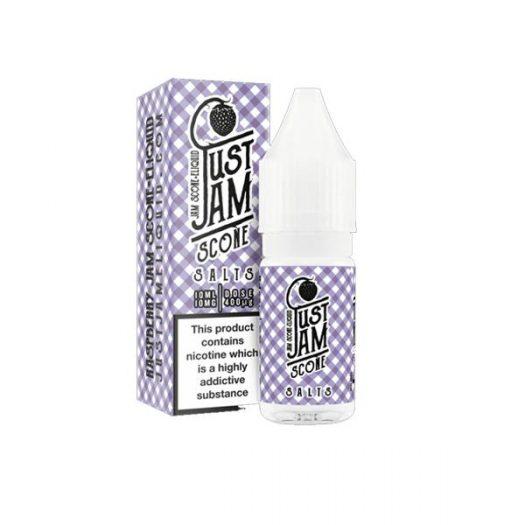 JWNJu22stJam10ml4 525x525 - 10mg Just Jam 10ml Flavoured Nic Salt (50VG/50PG)