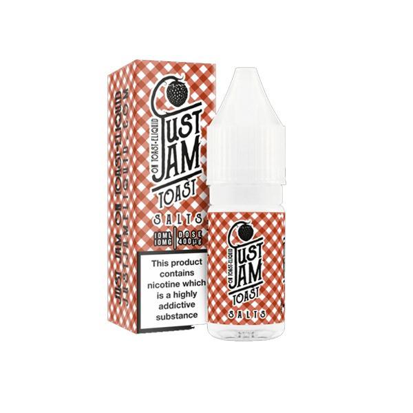 JWNJus2tJam10ml5 525x525 - 10mg Just Jam 10ml Flavoured Nic Salt (50VG/50PG)