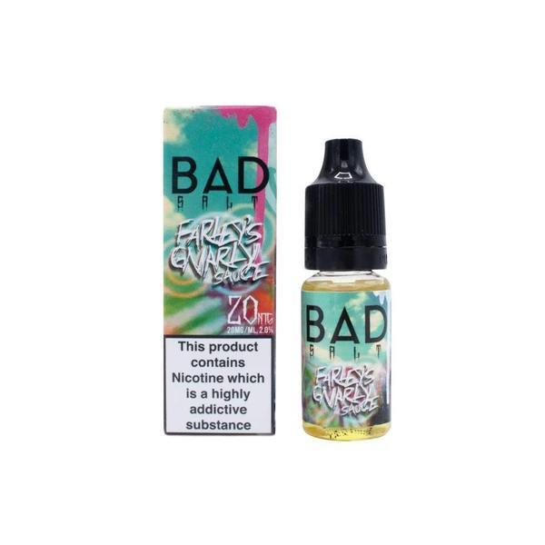 JWN0mgBadDripNic2 525x525 - 10mg Bad Drip Nic Salts 10ml (50VG/50PG)