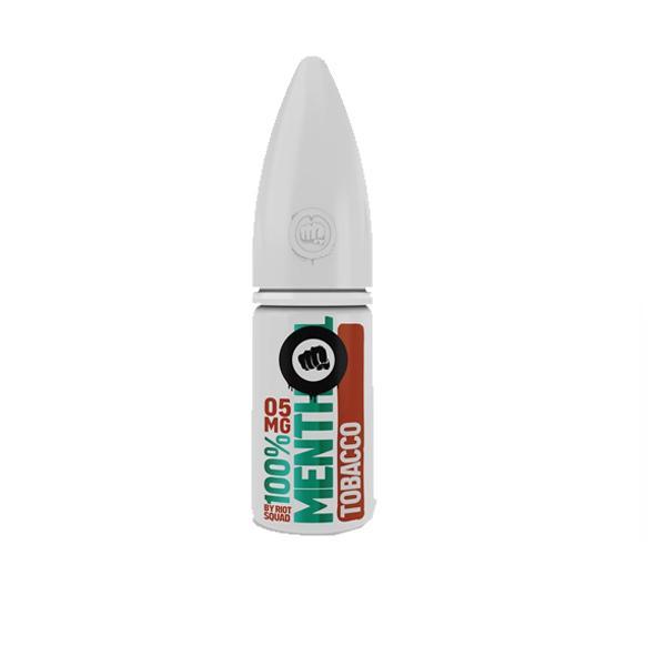 JWN101MentholRange7 1 525x525 - 10mg Riot Squad 100% Menthol Range Nic Salts 10ml (50VG/50PG)