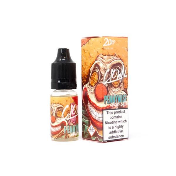JWN10mgClownNic2 525x525 - 10mg Clown Nic Salts by Bad Drip 10ml (50VG/50PG)