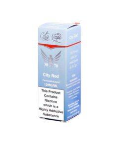 City Vape 18mg 10ml Flavoured E-liquid (30VG/70PG) 5