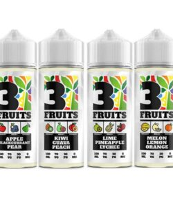 3 Fruits 100ml Shortfill 0mg (70VG/30PG) 5