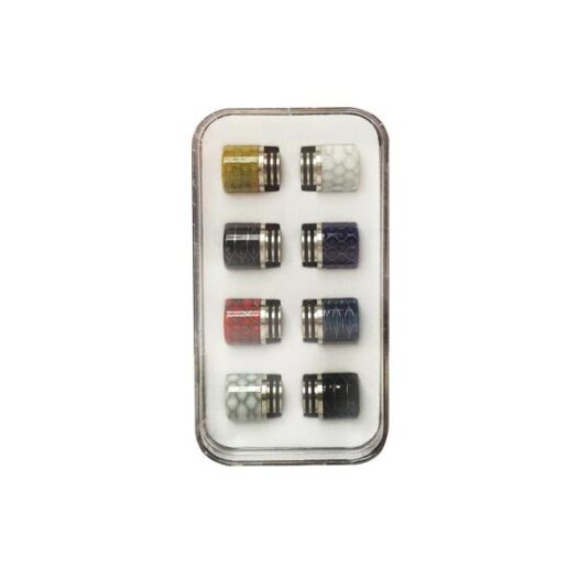 JWN810DripTipKitResin 1 525x525 - Replacement 810 Drip Tip Set - Pack of 8
