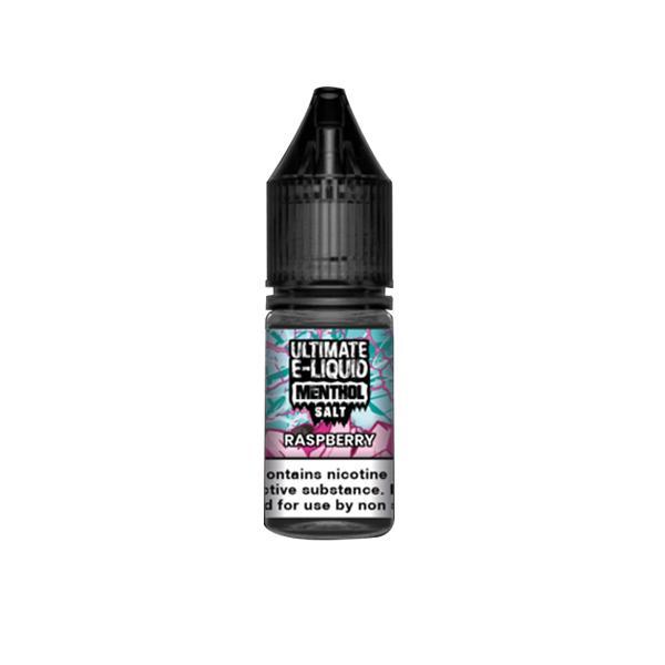 JWN10mgEliquidMenth5 525x525 - 10mg Ultimate E-liquid Menthol Nic Salts 10ml (50VG/50PG)