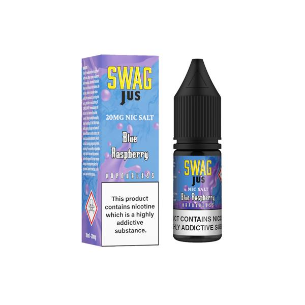 JWNBK0037X0200 29 525x525 - 10mg Swag Jus 10ml Vapourless Nic Salts (50VG/50PG)