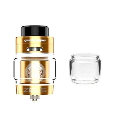 JWNgeekvapezeusdualdsbbleglass 525x525 - Geekvape Zeus Dual RTA Extended Replacement Glass