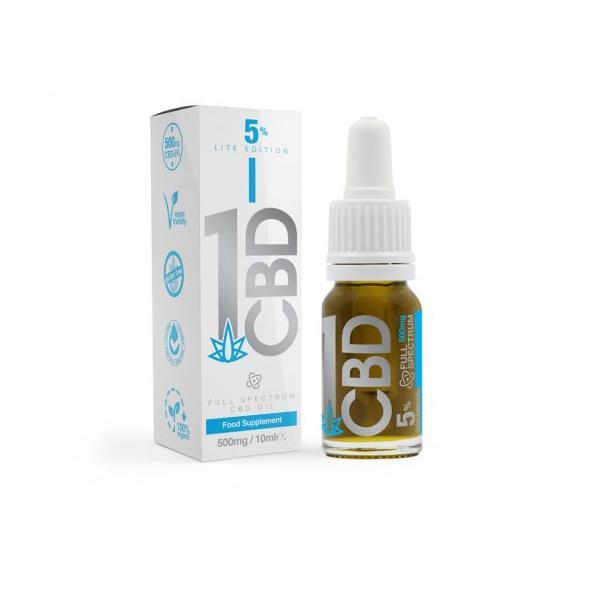 JWNAH0127X0051 525x525 - 1CBD 5% Pure Hemp 500mg CBD Oil Lite Edition 10ml