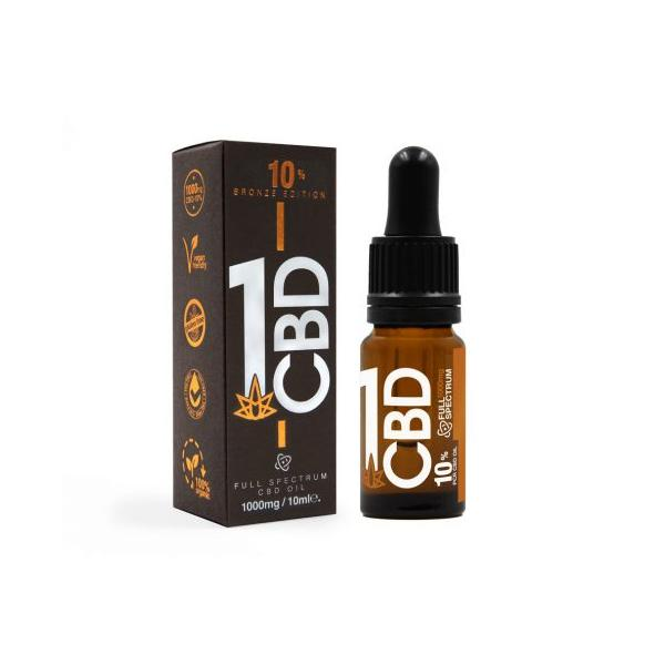JWNAH0129X0051 525x525 - 1CBD 10% Pure Hemp 1000mg CBD Oil Bronze Edition 10ml