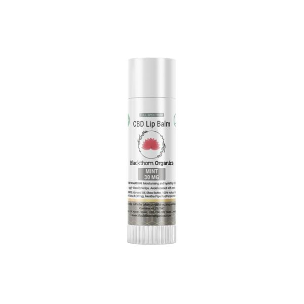 JWNAQ0021X0141 525x525 - Blackthorn Organics CBD Infused Lip Balm 30mg CBD 15g
