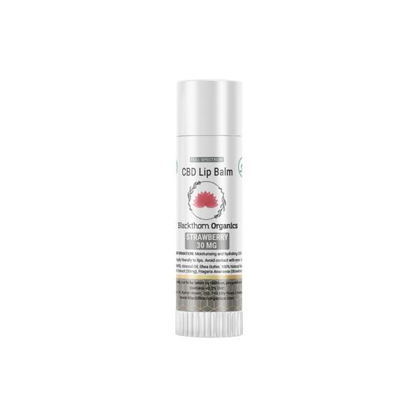 JWNAQ0023X0141 525x525 - Blackthorn Organics CBD Infused Lip Balm 30mg CBD 15g