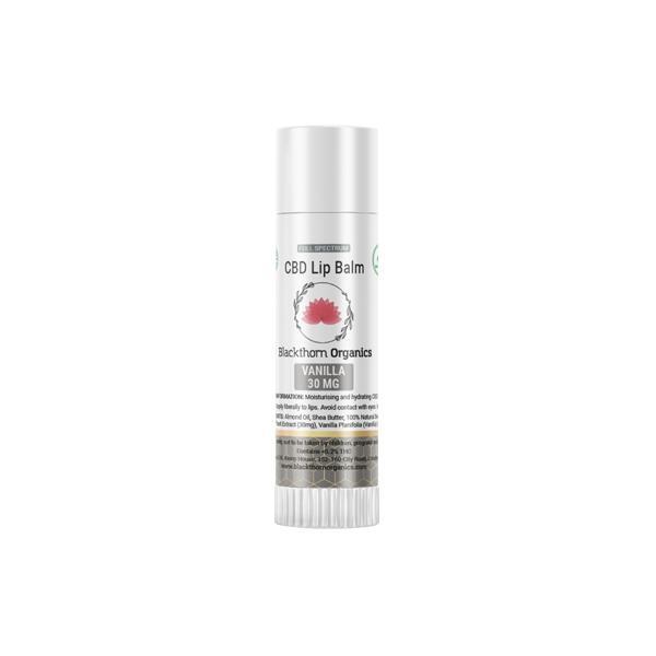 JWNAQ0024X0141 525x525 - Blackthorn Organics CBD Infused Lip Balm 30mg CBD 15g