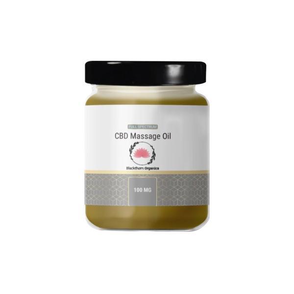 JWNAQ0026X0141 525x525 - Blackthorn Organics 100mg CBD Massage Oil 95g