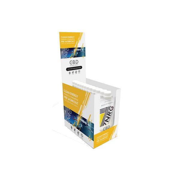 JWNBA0016X0073 525x525 - 12 x 7NRG Pre-Workout Mango & Pineapple 12mg CBD Energy Shakes