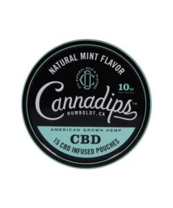 JWNBB0009X0089 250x300 - Cannadips 150mg CBD Snus Pouches - Natural Mint (Buy 1 Get 1 Free)