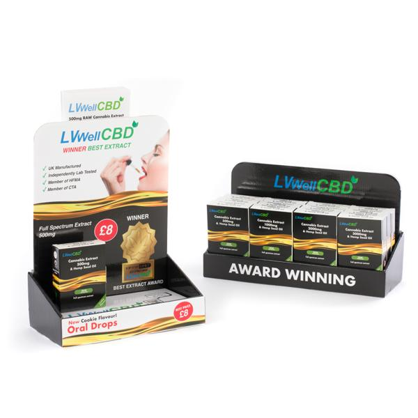 JWNBB0083X0066 525x525 - LVWell CBD 12 Piece Raw CBD Retail Starter Pack