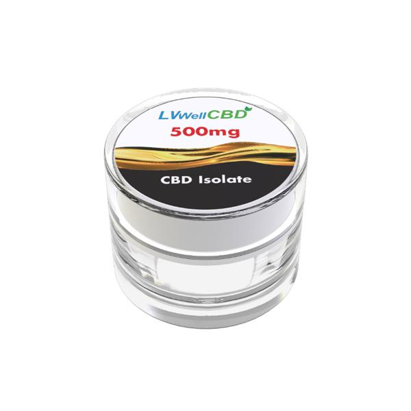 JWNBB0084X0066 525x525 - LVWell CBD 99%  Isolate 500mg CBD