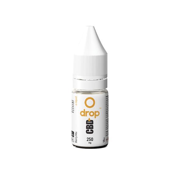 JWNBE0188X0121 11 525x525 - Drop CBD Flavoured E-Liquid 250mg 10ml