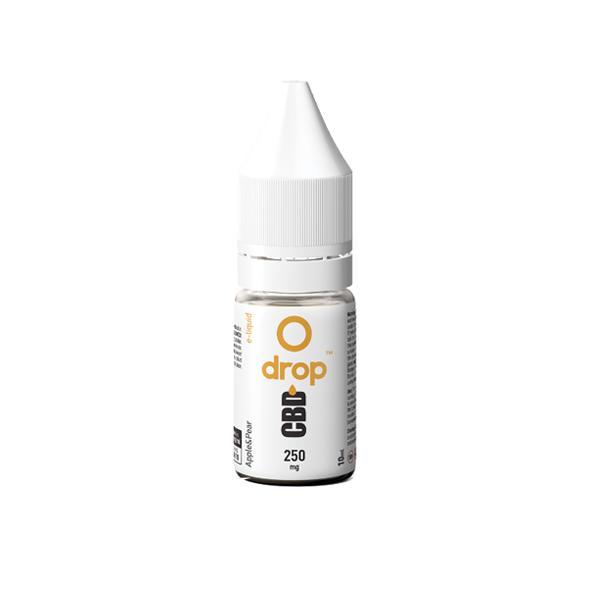 JWNBE0188X0121 4 525x525 - Drop CBD Flavoured E-Liquid 250mg 10ml
