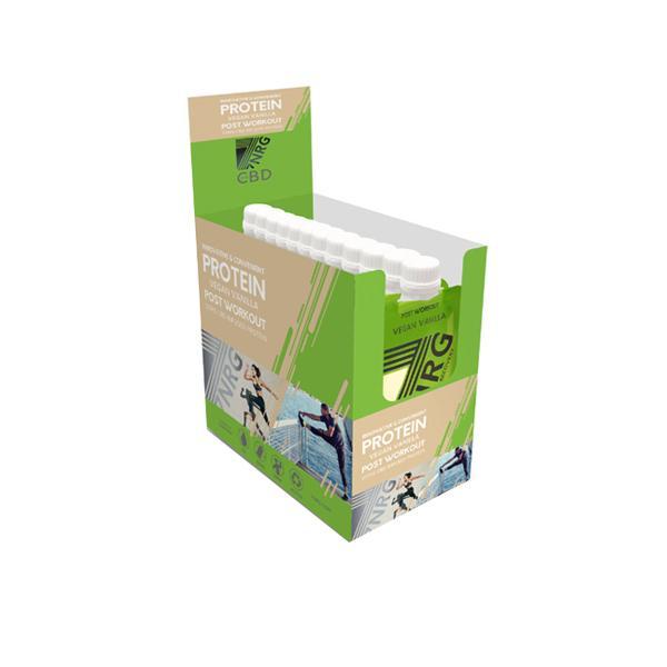 JWNBG0238X0073 525x525 - 12 x 7NRG Post-Workout Vegan Vanilla 25mg CBD Protein Shake