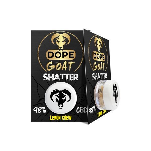 JWNBL0108X0087 525x525 - Dope Goat Shatter 98% CBD 1g