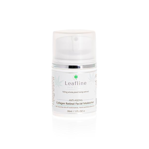 JWNBL0112X0127 525x525 - CBD Leafline 100mg CBD Collagen Retinol Face Cream 30ml
