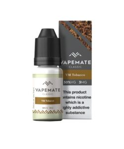 Vapemate Classic 12mg 10ml E-Liquid (70VG/30PG) 40