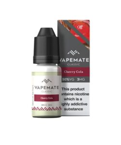 Vapemate Classic 18mg 10ml E-Liquid (70VG/30PG) 25