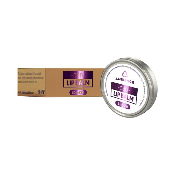 JWNBO0357X0191 525x525 - Ambience CBD Infused 50mg CBD Lip Balm