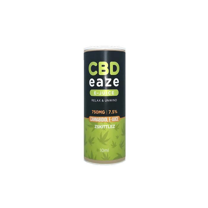 JWNCBDEaze750MG75CBD10mlELiquid2 525x525 - CBD Eaze 750MG CBD 10ml E-Liquid