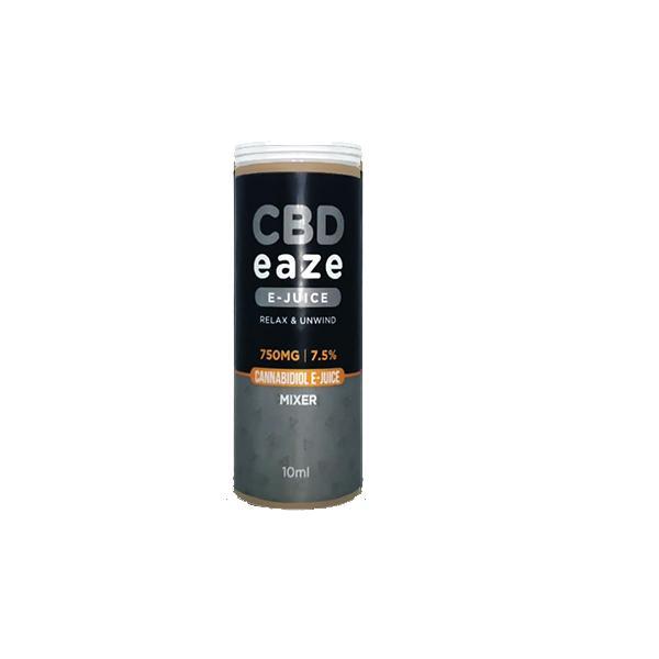 JWNCBDEaze750MG75CBD10mlELiquid3 525x525 - CBD Eaze 750MG CBD 10ml E-Liquid