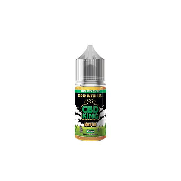 JWNCBDKing250MGCBD1 525x525 - CBD King 250MG CBD 30ml E-Liquid (70VG/30PG)