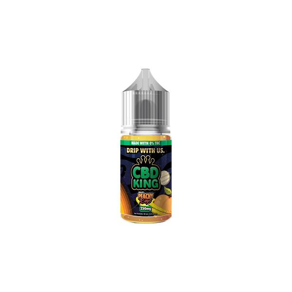 JWNCBDKing250MGCBD3 525x525 - CBD King 250MG CBD 30ml E-Liquid (70VG/30PG)