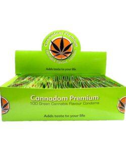 JWNCannsnnabisFlavourCondoms 250x300 - Cannadom Premium Cannabis Flavour Condoms