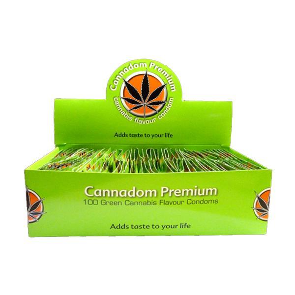 JWNCannsnnabisFlavourCondoms 525x525 - Cannadom Premium Cannabis Flavour Condoms