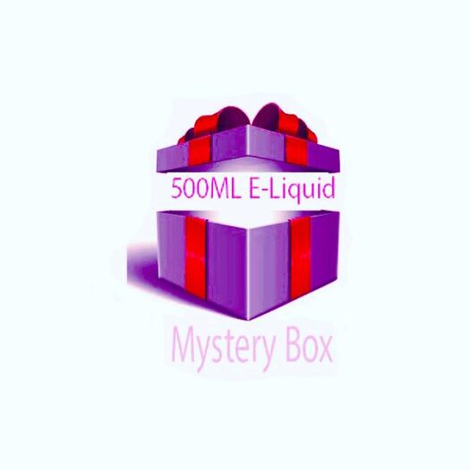JWN500mlEliquidMYSTERYBox 525x525 - 500ml E-liquid MYSTERY BOX + Nic Shots